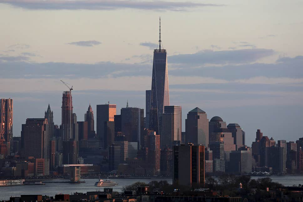 New York ahead of London as the world's number one financial centre