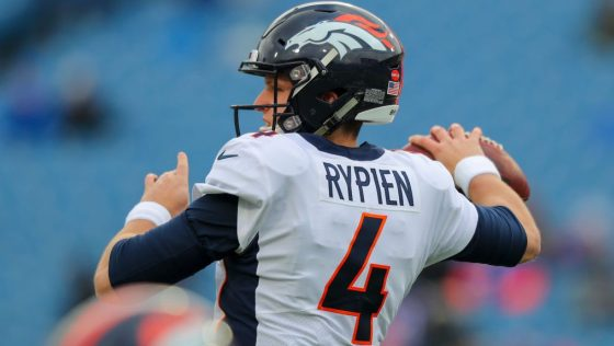 Broncos promoting Brett Rypien from practice squad