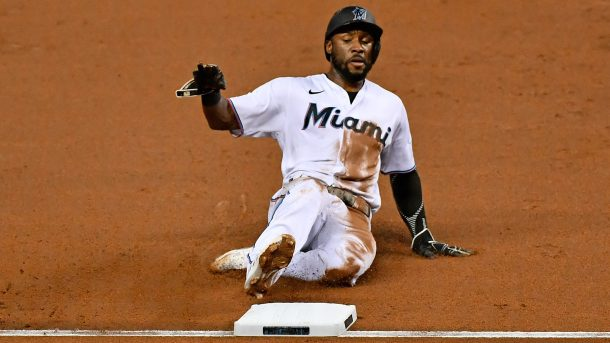 Marlins' Starling Marte, José Ureña hurt against Yankees